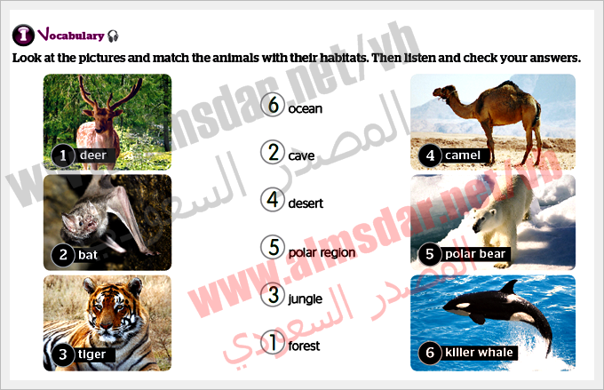unit Protect animals page