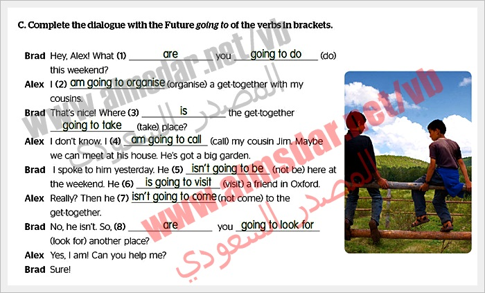 Module (1a) Future going page